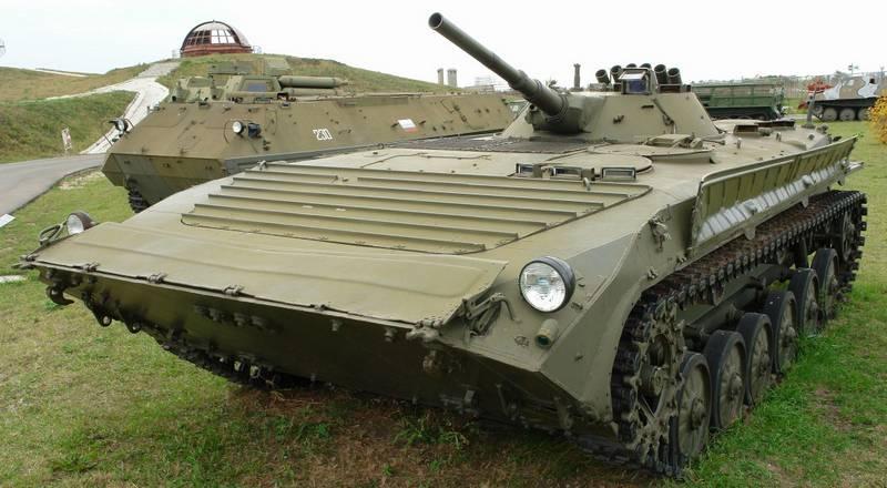 Yükseltilmiş BMP-1 yeni bir silahla donatılacak