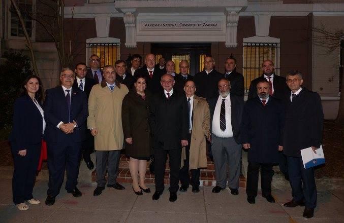 В Баку раскритиковали США за приём главы Нагорно-Карабахской Республики в Конгрессе