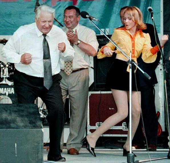 """Borya, vodka, rock and roll. Cómo los """"compañeros"""" no hicieron un seguimiento del baile de Yeltsin"""