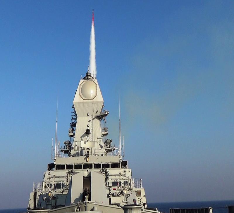 La Russie a aidé l'Inde à construire un destroyer