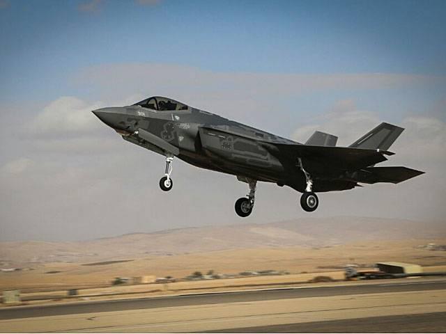 Le F-35 en Israël a effectué son premier vol opérationnel