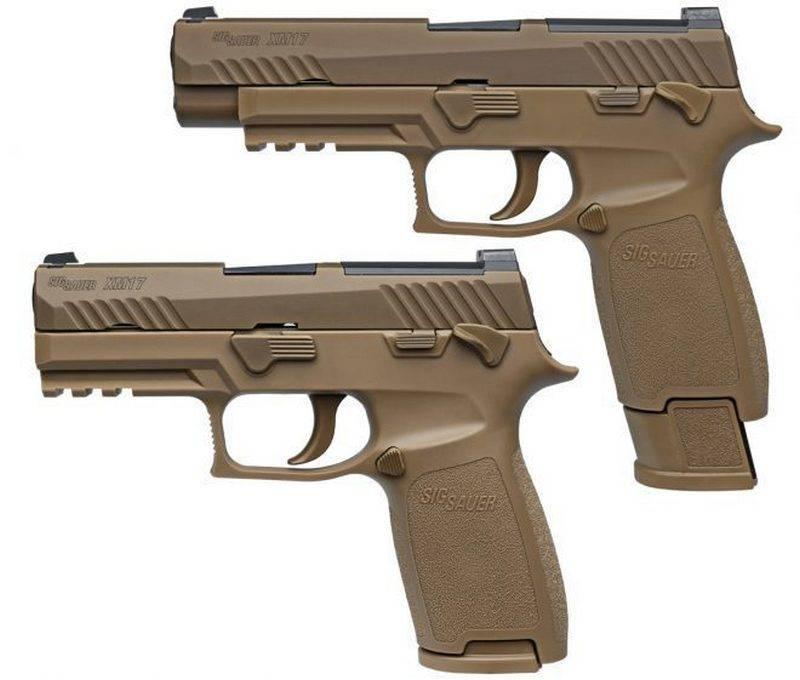Los marines de EE. UU. Ordenaron pistolas 35000 M17 y M18