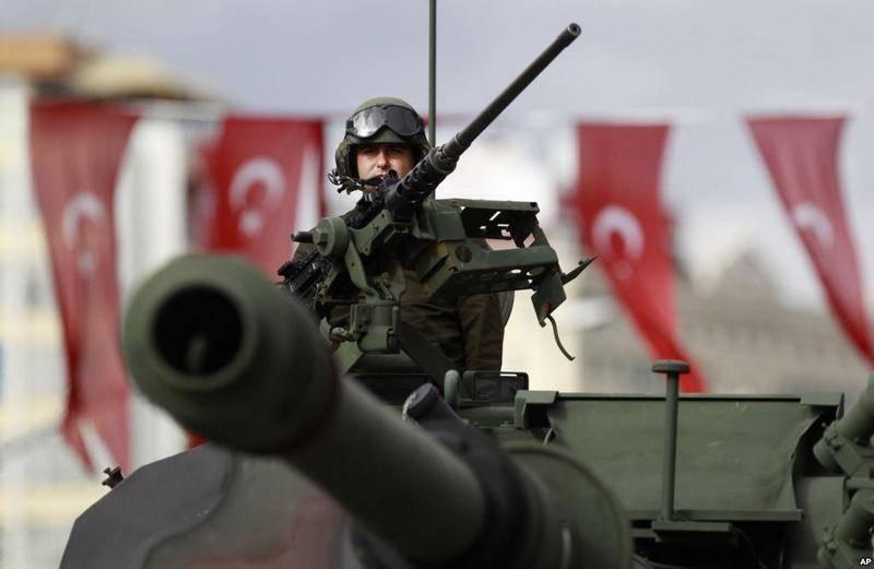埃尔多安威胁对伊拉克库尔德斯坦的突然袭击