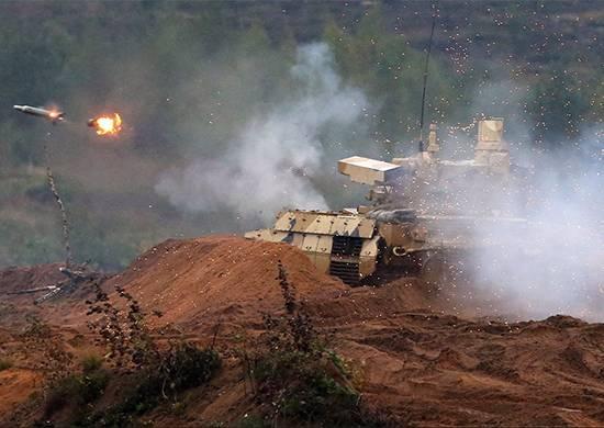 """Le BMPT """"Terminator-2"""" sera adopté par les forces armées de la Fédération de Russie"""