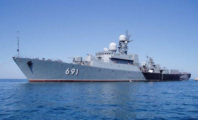 La Flotilla Caspia realizó ejercicios para repeler los ataques desde el aire.