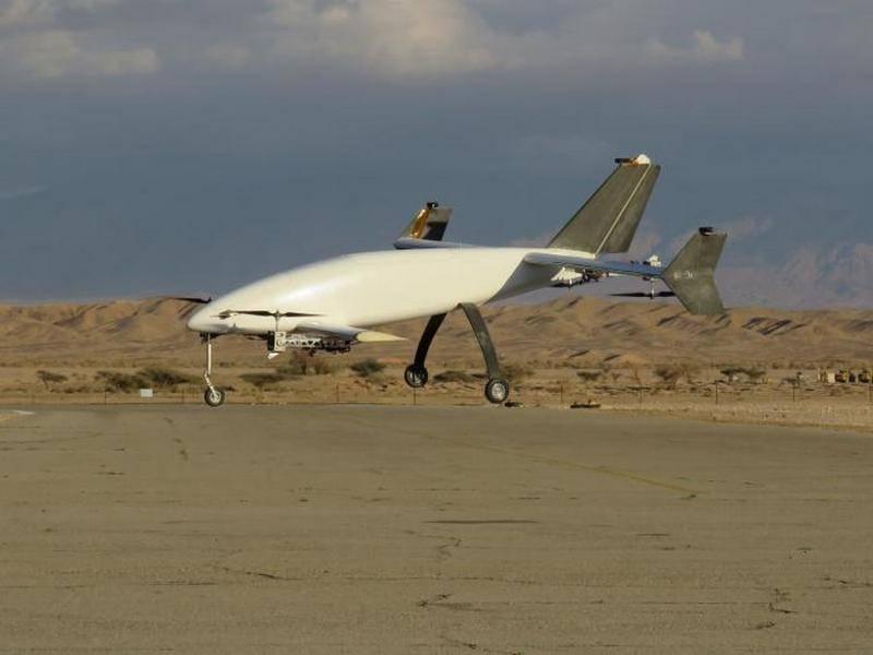 Die israelische Firma APG stellte eine neue Version der Drohne Peres vor