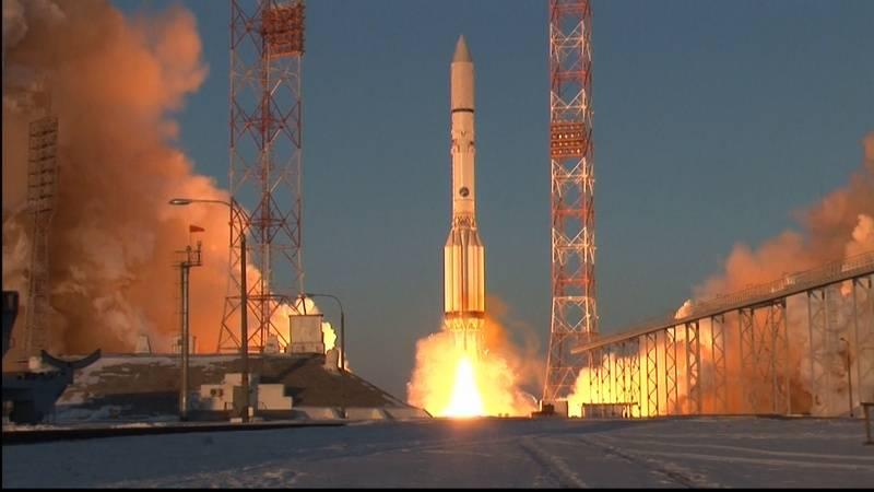 在拜科努尔,2023年将关闭用于发射质子导弹的平台