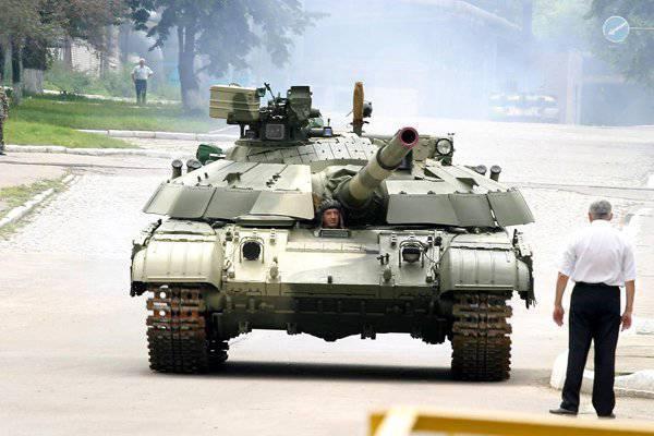 ウクライナの請負業者がタンクを「奪った」