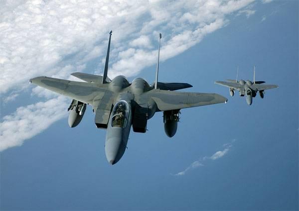 """La Fuerza Aérea de los Estados Unidos decidió dar una """"respuesta a Putin"""". Láseres de combate F-15"""