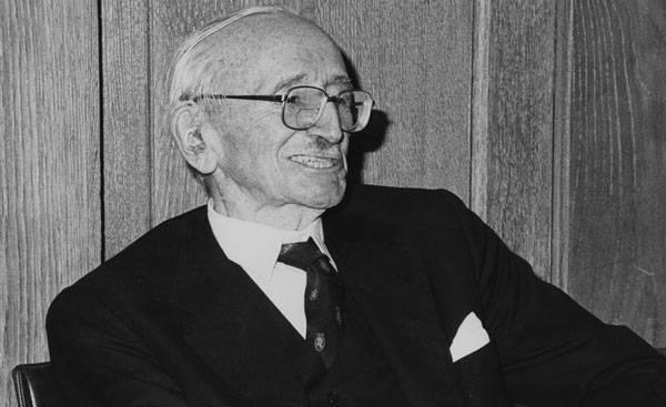 Vio la caída del socialismo. En memoria de Augustus Hayek