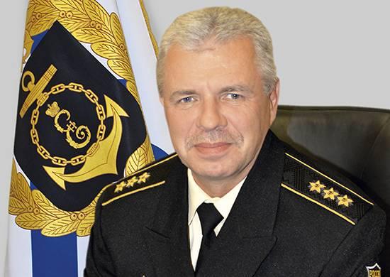 Vitko ha parlato dell'arrivo di nuove attrezzature nella flotta del Mar Nero