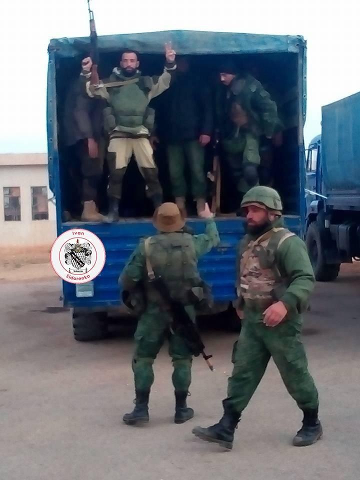 Сирийские охотники на террористов получили новые КамАзы
