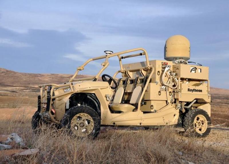 ABD Ordusu Buggy'yi Anti-Awl Laser ile test etti.