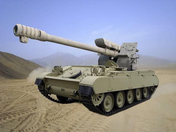 Французский танк и советская гаубица: САУ AMX-13D30 Vulcano (Перу)