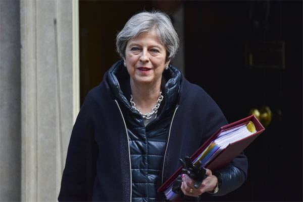 """""""Chain"""" May will try to convince European colleagues to strike at Russian diplomats"""