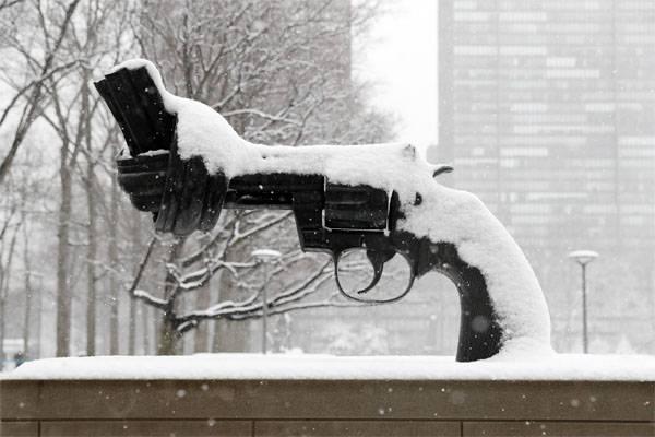 러시아 연방 대사관 : 우리는 또한 미국에서 눈이 내렸다.