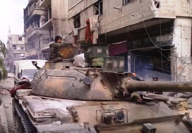 """I siriani hanno modernizzato il T-55 """"con l'ultima parola"""""""