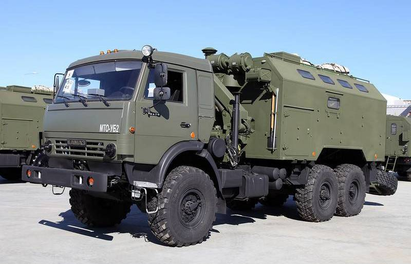 New upgraded workshops MTO UB-1 and UB-2 entered the South Military District