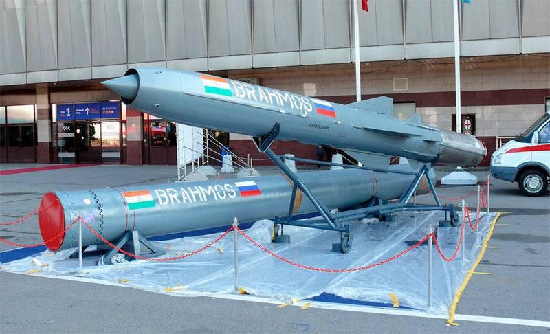 BrahMos 순항 미사일 테스트 성공