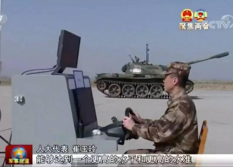 Η Κίνα άρχισε να δοκιμάζει τη μη επανδρωμένη δεξαμενή τύπου 59