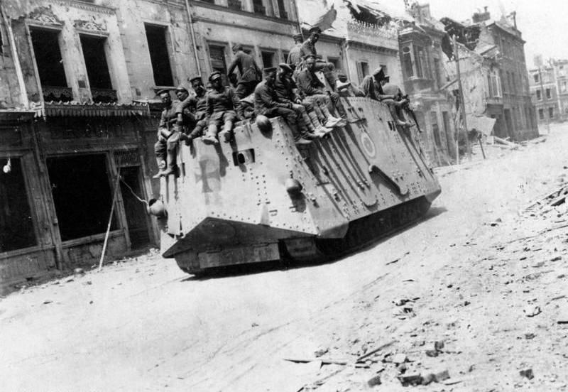 Весеннее наступление германской армии