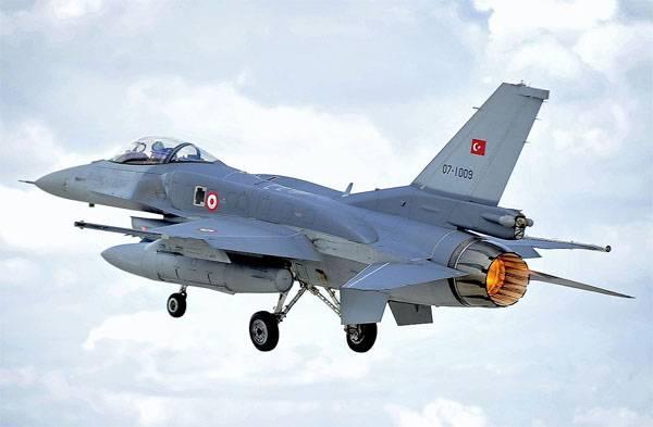 F-16 लड़ाकू विमान तुर्की में दुर्घटनाग्रस्त