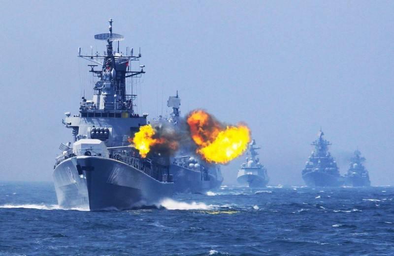 PLA 해군, 남중국해에서 군사 훈련 실시