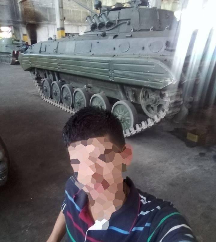 सीरियाई सेना के पास एक नया बीएमपी -2 है
