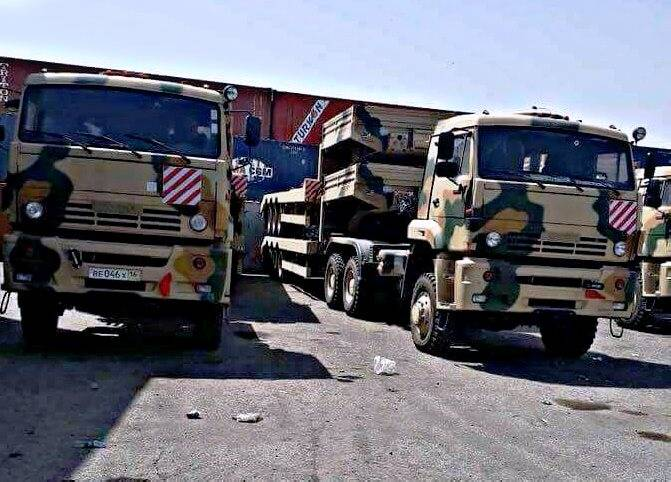 """Iraqi army received KamAZ tractor and """"Gorets-M"""" armored cars"""