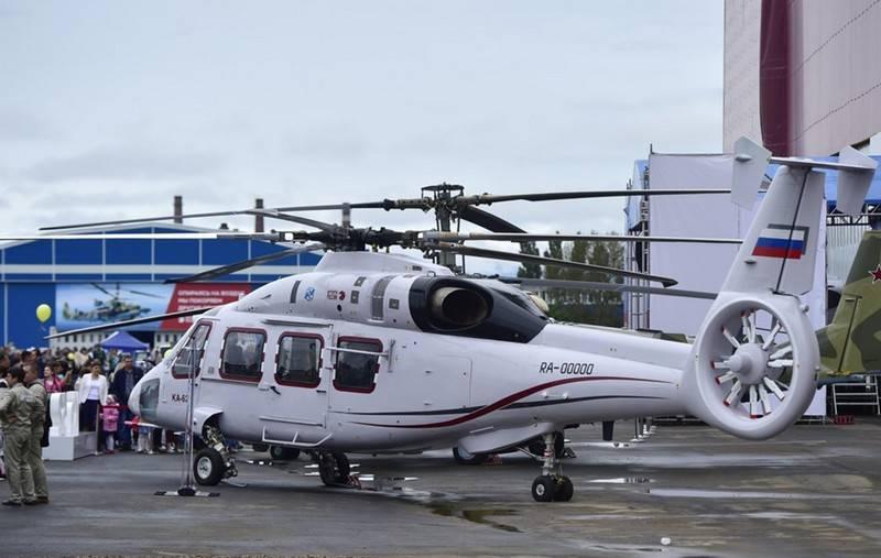 La versione militare dell'elicottero Ka-62 è pronta, ma non testata