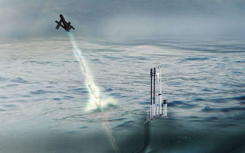 Il Pentagono ordinò lo sviluppo di UAV per sottomarini
