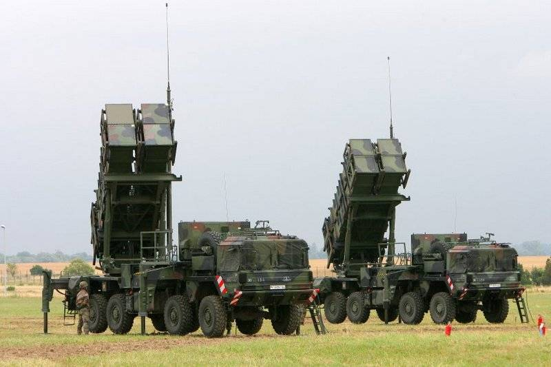 Turkey intends to purchase American Patriot air defense system