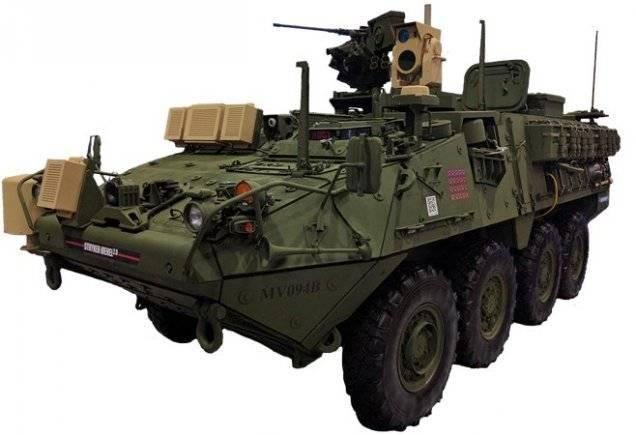 Боевой лазерный комплекс Stryker MEHEL (США)