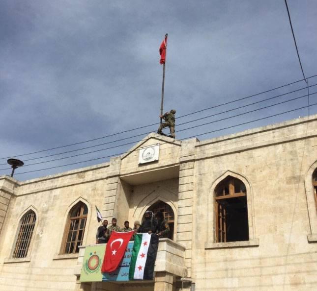 Регион Африн перешел под контроль Турции