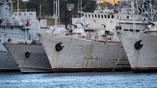 В России прокомментировали заявление Киева о принесении в «жертву» украинских ВМС