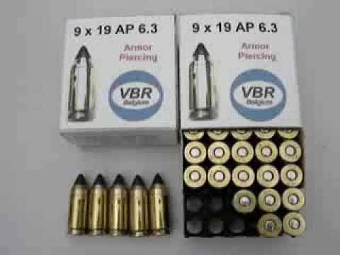 Empresas de ametralladoras VBR Bélgica