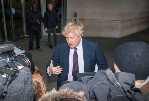 Johnson falou sobre os termos da amizade da Grã-Bretanha com a Rússia e os russos