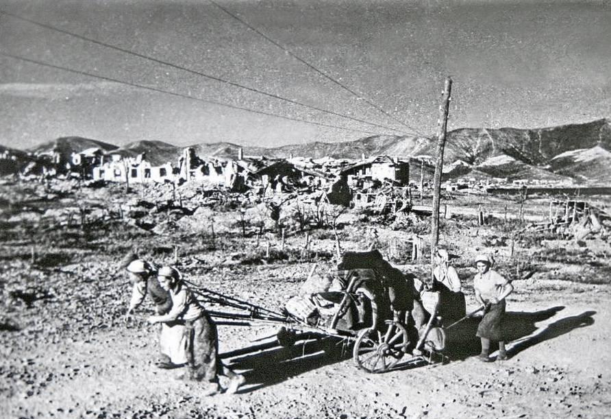немецкие фото новороссийска бед