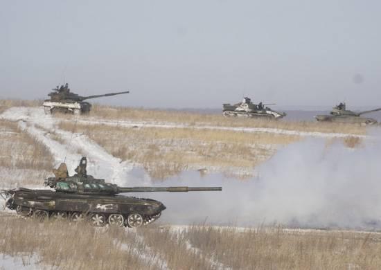 在VOI培训警示单位机动化步兵单位