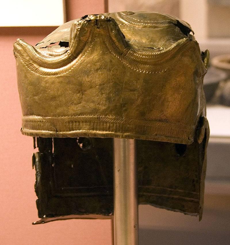 Die teuersten Helme. Helm von Gisborough. Teil drei