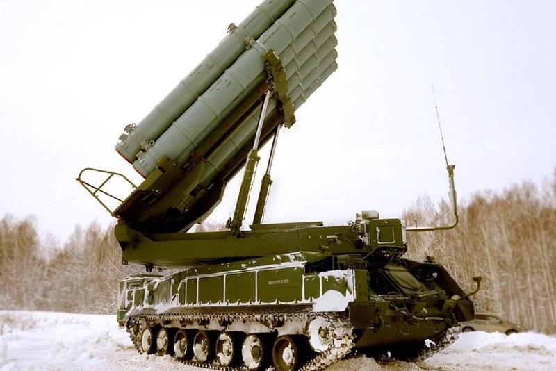 Buk-M3防空システムバイキングの新しいバージョンがエクスポートされます