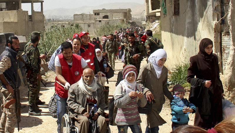 Ministério da Defesa: Eastern Guta deixou cerca de 128 mil pessoas