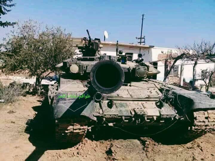 रूसी T-90А दमिश्क के पास अपनी अयोग्यता प्रदर्शित करता है