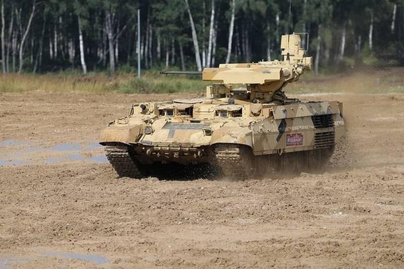 "Uralvagonzavod: o primeiro lote de BMPT ""Terminator-2"" enviado às tropas"