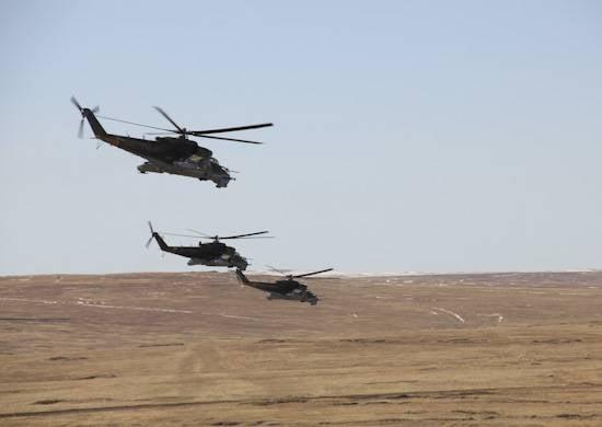 Transbaikalia에서는 전투 사격 훈련의 첫 단계가 끝났습니다.