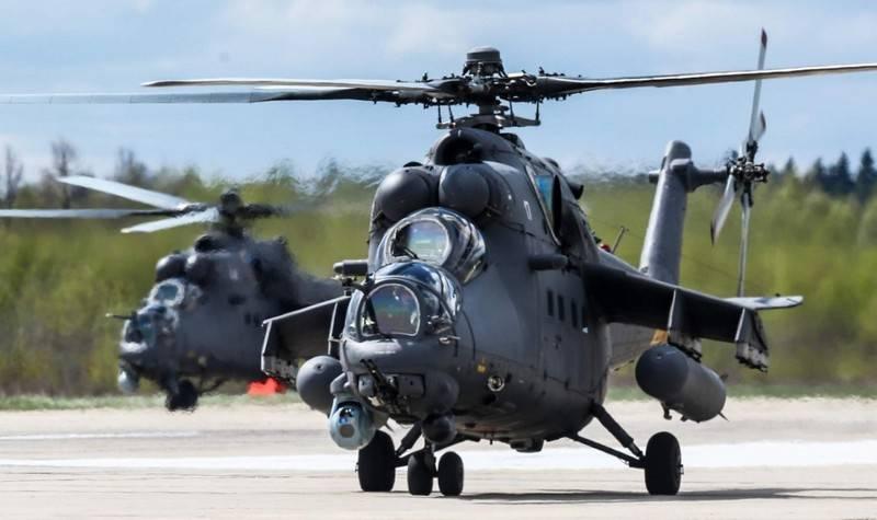 Rusya, Özbekistan'a 10'dan fazla Mi-35M helikopteri tedarik edecek