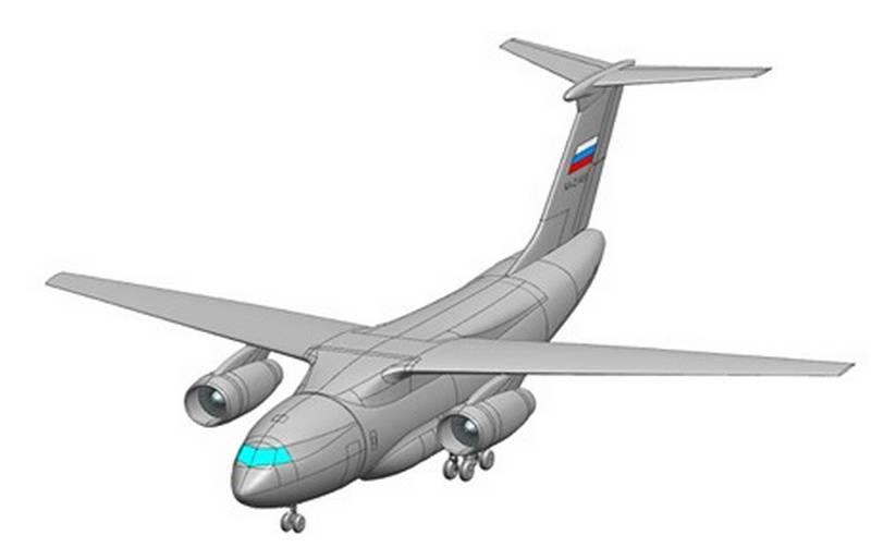 """PJSC """"Il"""": la tarea táctica y técnica para IL-276 aprobada"""