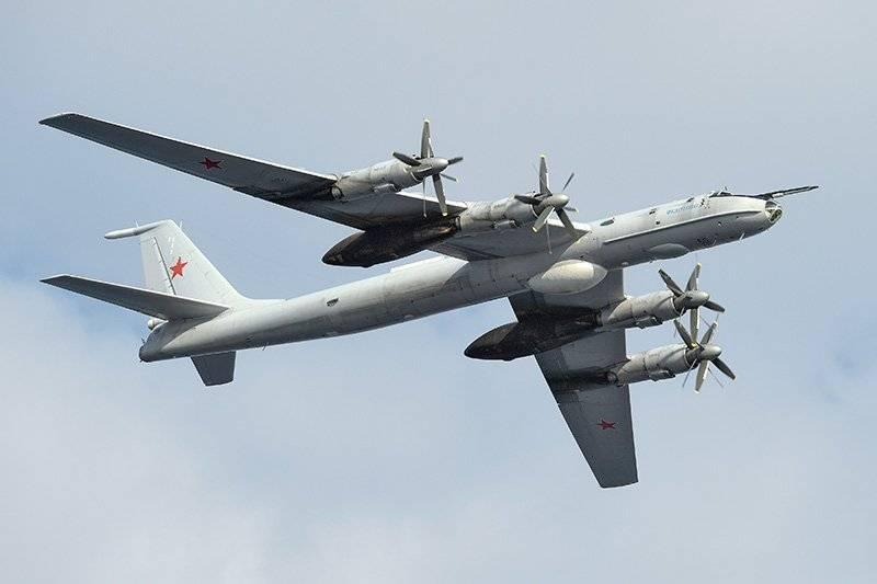 Anti-submarino Tu-142 realizou exercícios no Mediterrâneo