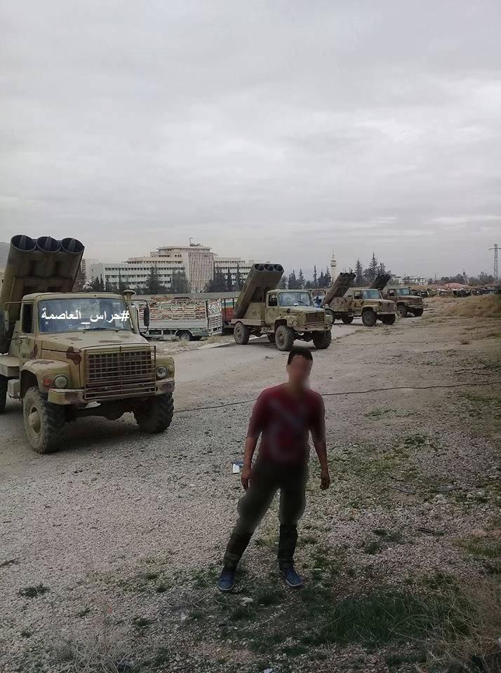 """मिसाइल प्रक्षेपणों से लैस सीरियाई """"टैंक विशेष बल"""""""