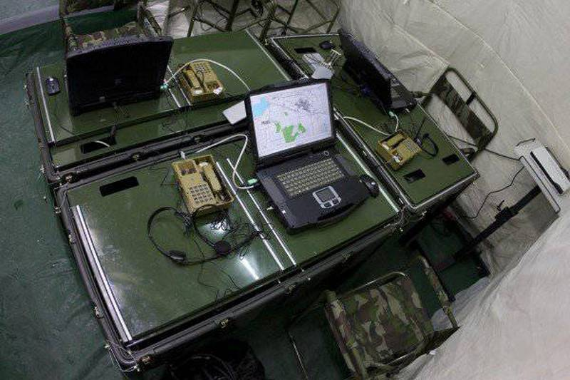 """""""Rostec"""" for the first time showed at a foreign exhibition the automated control system """"Andromeda-D"""""""